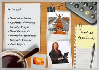 Get an Assistant!